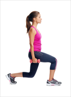 Lunge lower position